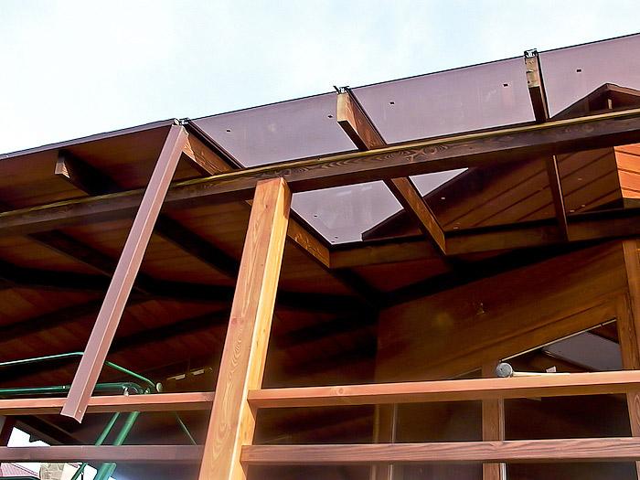 Стек на крышу как сделать